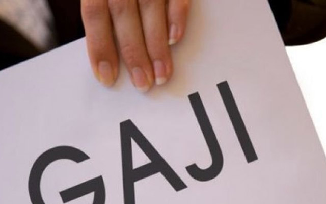 Total Gaji dan Tunjangan SEKJEN KEMENKEU Thn. 2012 Rp. 5,36 Triliun