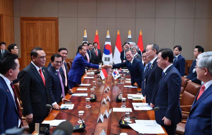 Indonesia dan Korea Selatan Tingkatkan Hubungan Perdagangan dan Investasi