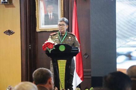 Wakil Jaksa Agung RI Buka Rakernis Bidang Intelijen Tahun 2018