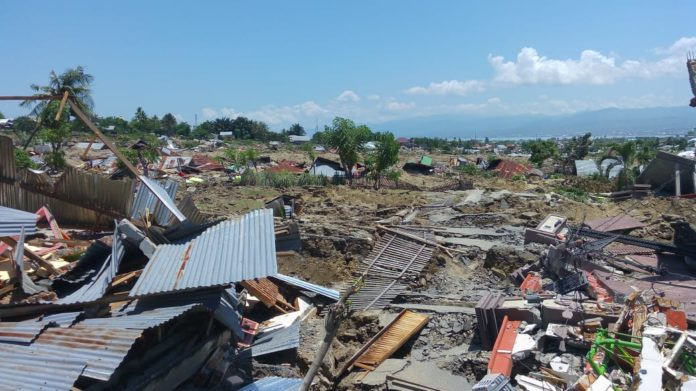 BMKG Lakukan Pemetaan Daerah Rendaman Tsunami Palu-Donggala