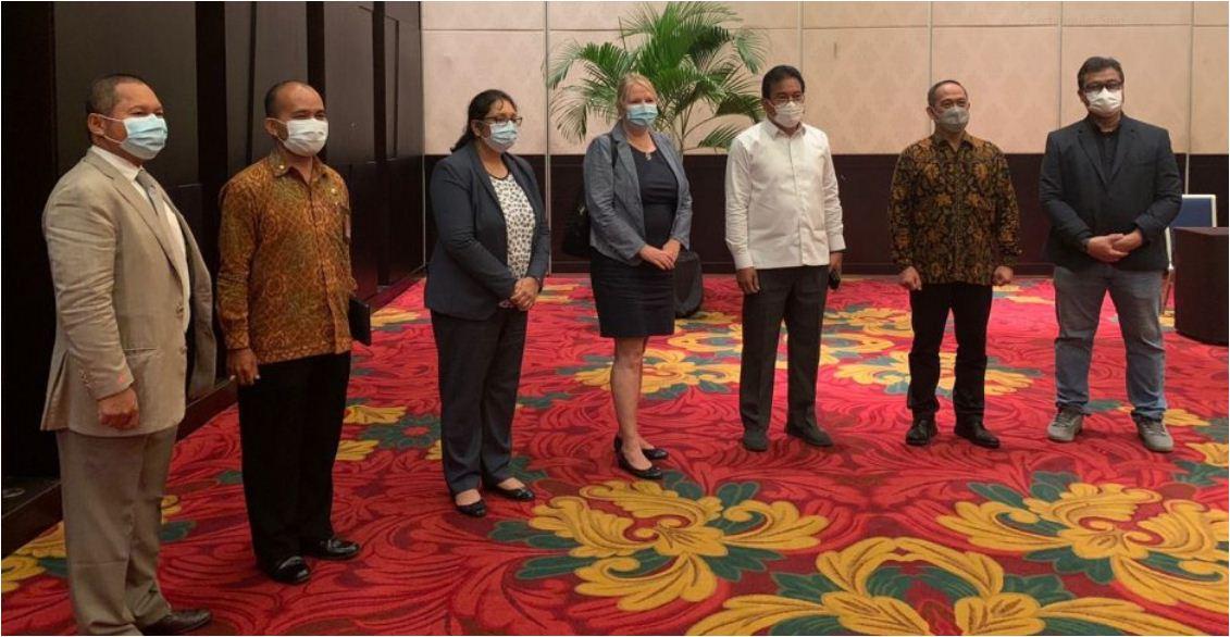 Persiapan GPDRR 2022, Tim PBB Lakukan Koordinasi Langsung dengan Pemerintah Indonesia di Bali