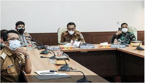 Gubernur Jabar Minta Bupati dan Walikota Proaktif dalam Mengejar PPKM ke Level 1 dan 2